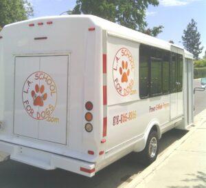 LASFD Training bus